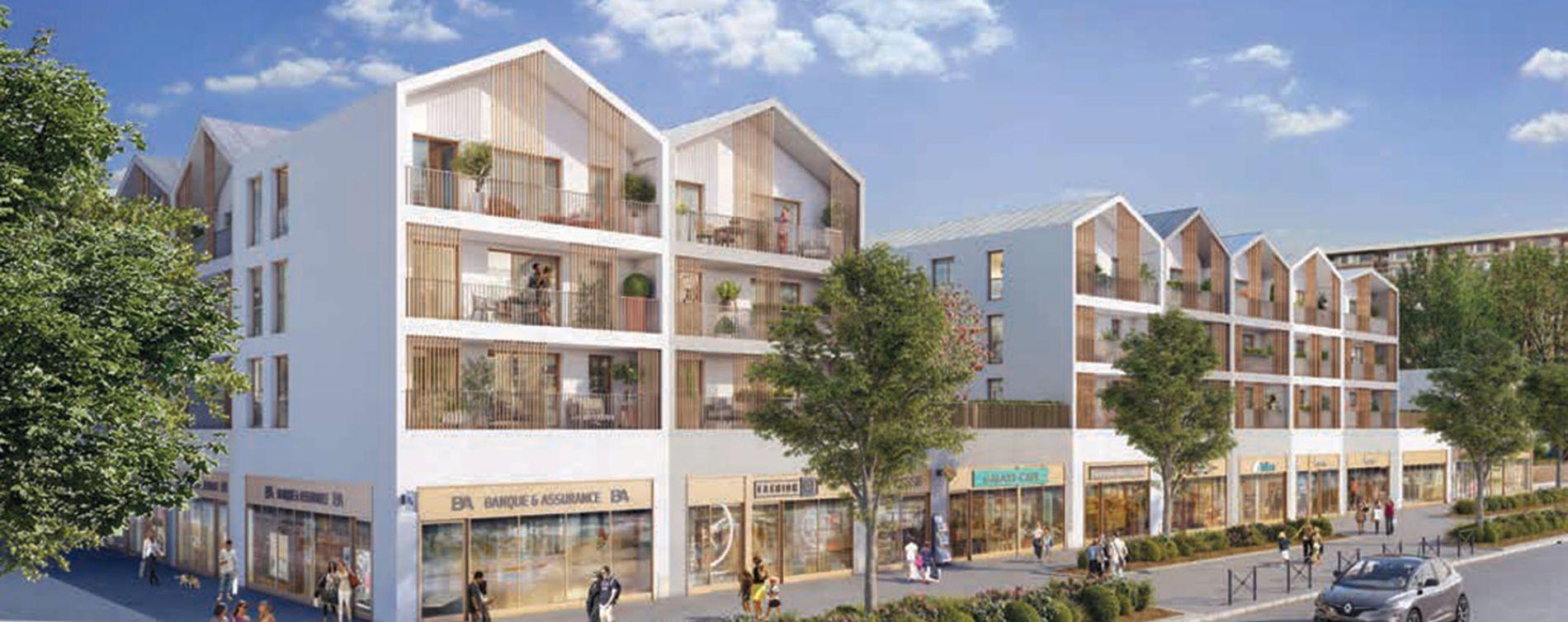Garges-lès-Gonesse : programme immobilier neuve « Programme immobilier n°217732 » en Loi Pinel