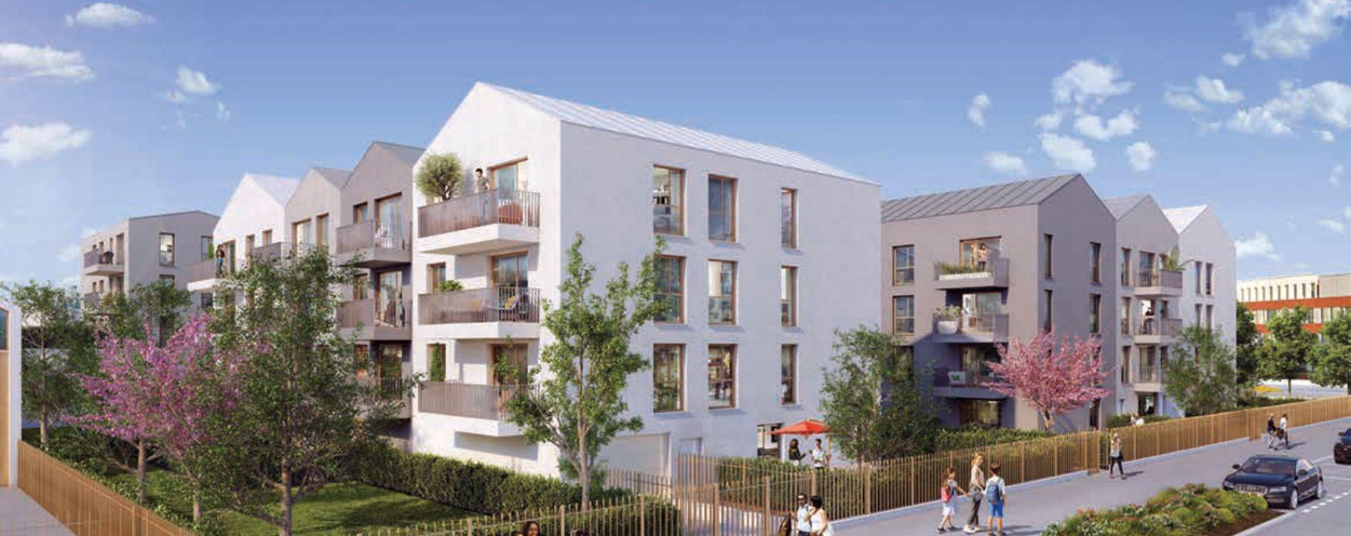 Garges-lès-Gonesse : programme immobilier neuve « Programme immobilier n°217732 » en Loi Pinel (2)