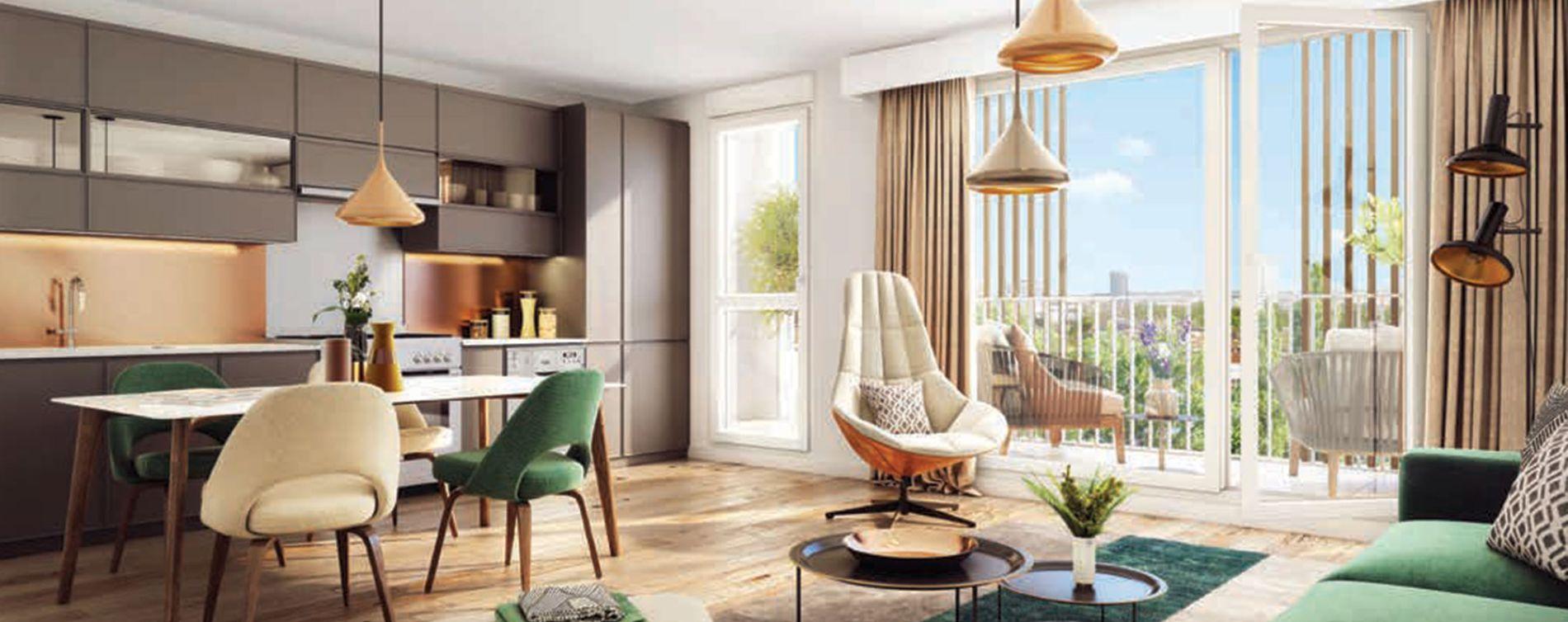Garges-lès-Gonesse : programme immobilier neuve « Programme immobilier n°217732 » en Loi Pinel (3)