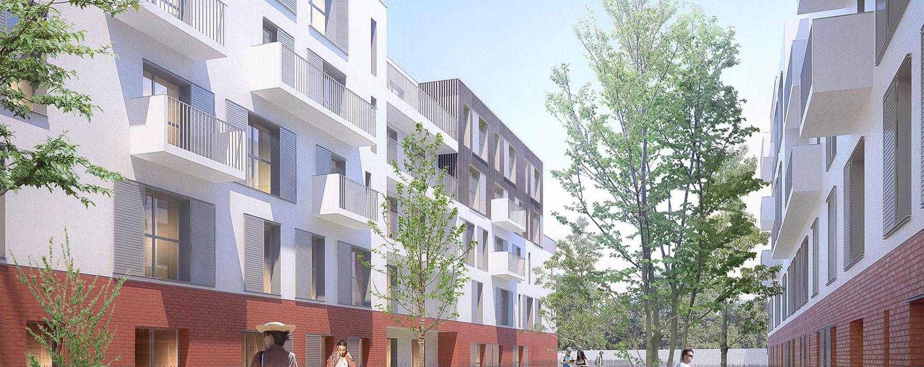 Gonesse : programme immobilier neuve « City Park »