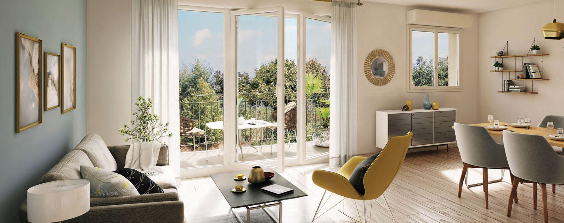 Gonesse : programme immobilier neuve « City Park » (2)