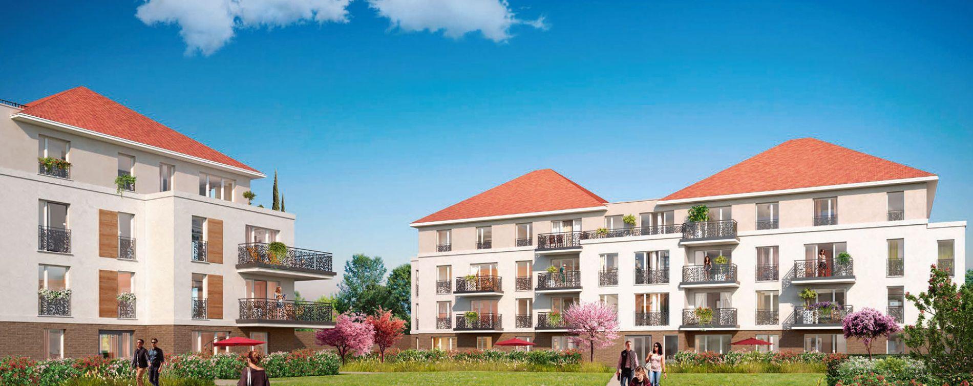 Jouy-le-Moutier : programme immobilier neuve « Les Jardins des Retentis II » (2)