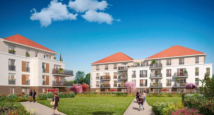 Résidence « Les Jardins Des Retentis Iii » programme immobilier neuf en Loi Pinel à Jouy-le-Moutier n°1