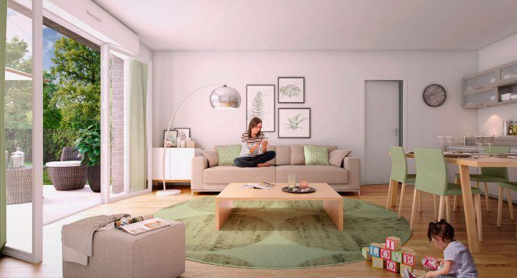 Résidence « Les Jardins Des Retentis Iii » programme immobilier neuf en Loi Pinel à Jouy-le-Moutier n°2