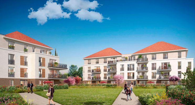 Photo du Résidence « Les Jardins Des Retentis » programme immobilier neuf en Loi Pinel à Jouy-le-Moutier