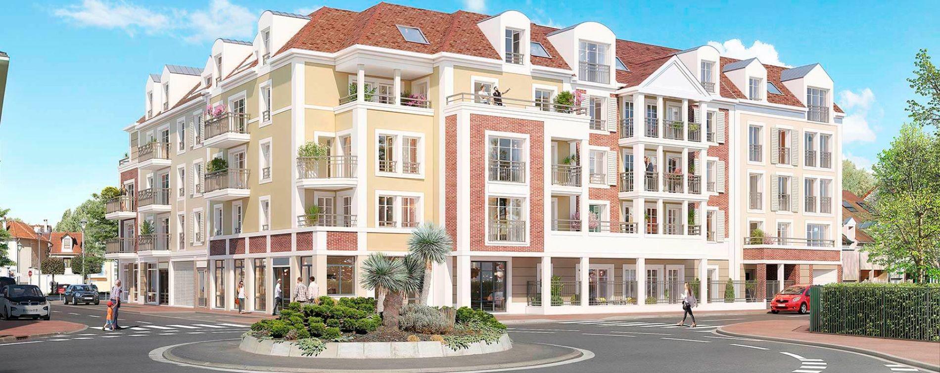 Le Plessis-Bouchard : programme immobilier neuve « Coeur Plessis »