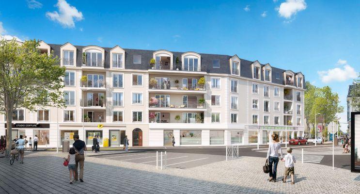 Photo n°1 du Résidence « Côté Plessis » programme immobilier neuf en Loi Pinel à Le Plessis-Bouchard
