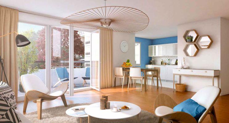 Photo n°2 du Résidence « Côté Plessis » programme immobilier neuf en Loi Pinel à Le Plessis-Bouchard