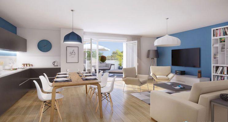 Résidence « Rives Plaisance » programme immobilier neuf en Loi Pinel à L'Isle-Adam n°4