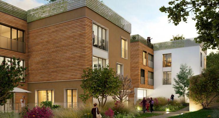 Résidence « Côté Parc » programme immobilier neuf en Loi Pinel à Montigny-lès-Cormeilles n°1