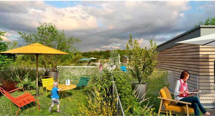 Résidence « Côté Parc » programme immobilier neuf en Loi Pinel à Montigny-lès-Cormeilles n°2