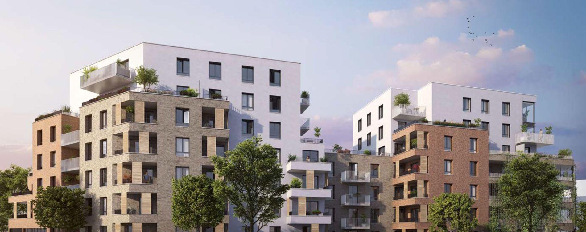 Montigny-lès-Cormeilles : programme immobilier neuve « Programme immobilier n°217980 » en Loi Pinel