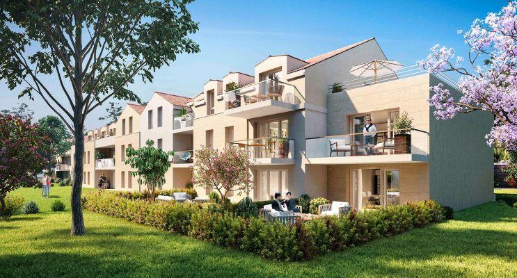 Résidence « Côté Jardin » programme immobilier neuf en Loi Pinel à Montlignon n°1