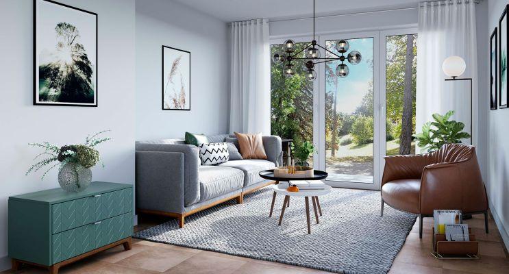 Résidence « Côté Jardin » programme immobilier neuf en Loi Pinel à Montlignon n°4