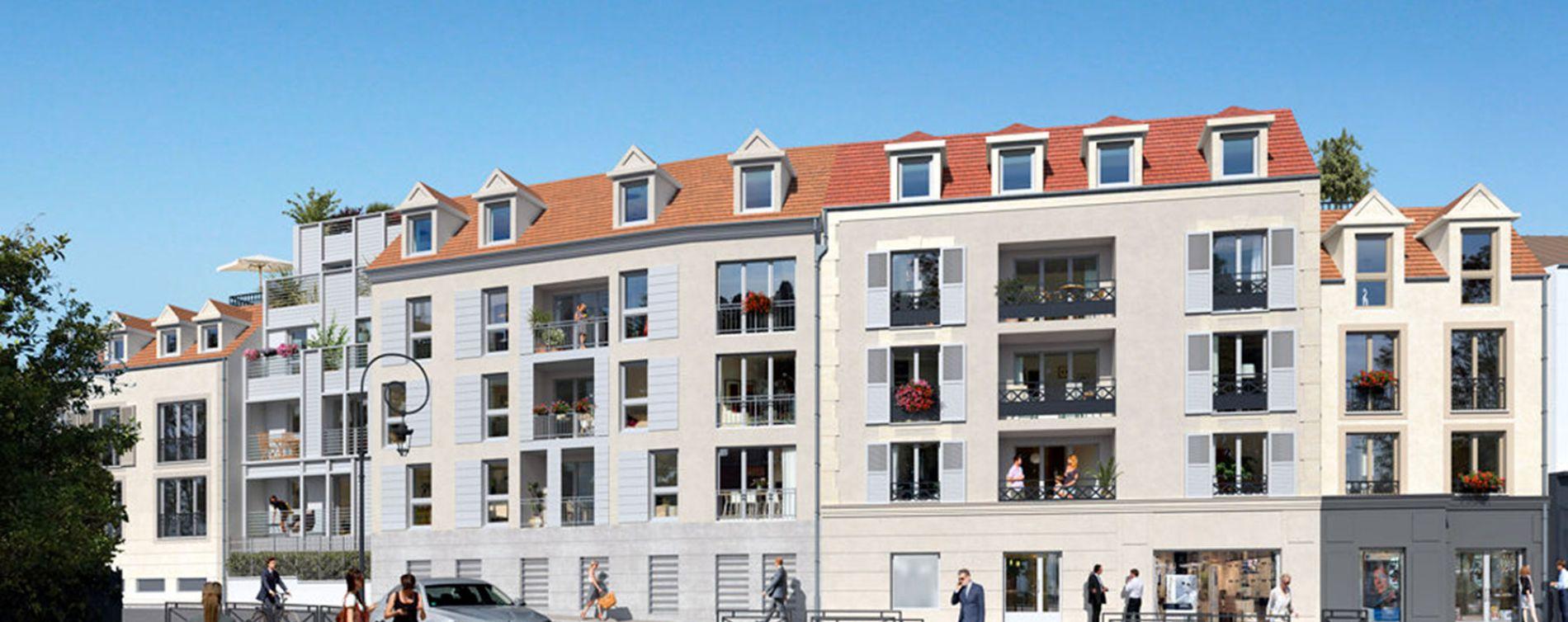 Osny : programme immobilier neuve « Le Clos du Val » en Loi Pinel
