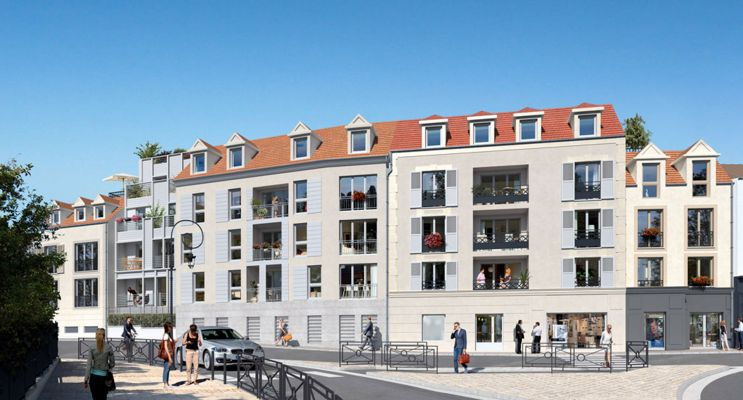 Photo du Résidence « Le Clos du Val » programme immobilier neuf en Loi Pinel à Osny