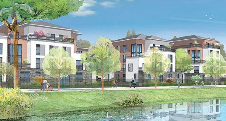 Résidence « Bellerive » programme immobilier neuf en Loi Pinel à Pontoise n°1