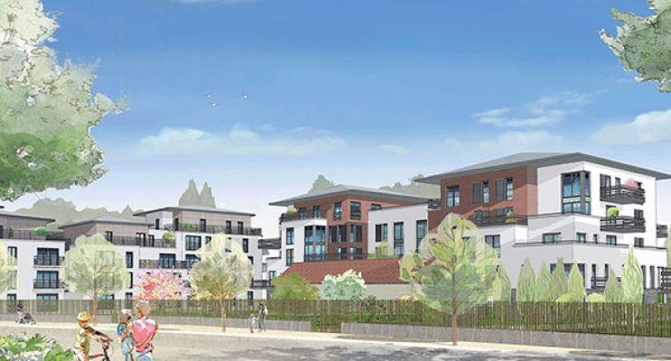 Résidence « Bellerive » programme immobilier neuf en Loi Pinel à Pontoise n°3