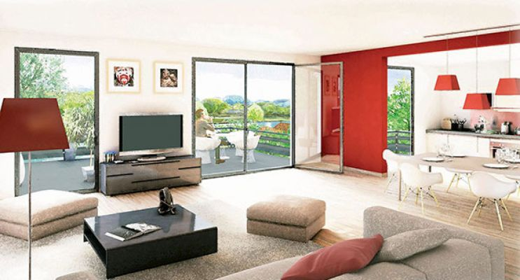 Résidence « Bellerive » programme immobilier neuf en Loi Pinel à Pontoise n°5