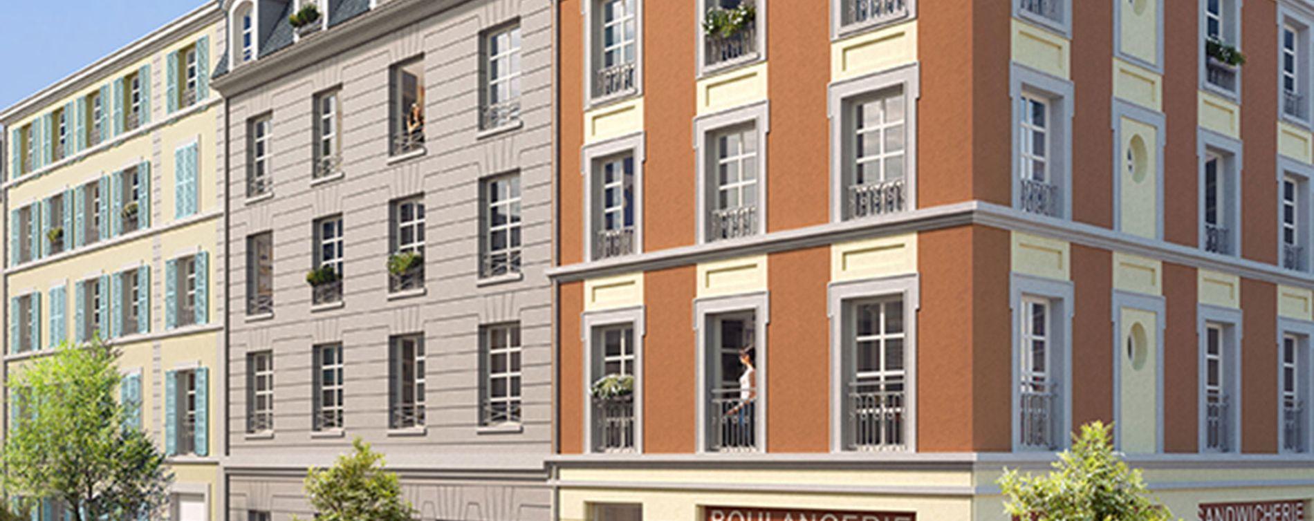 Pontoise : programme immobilier neuve « Campus Pissaro »