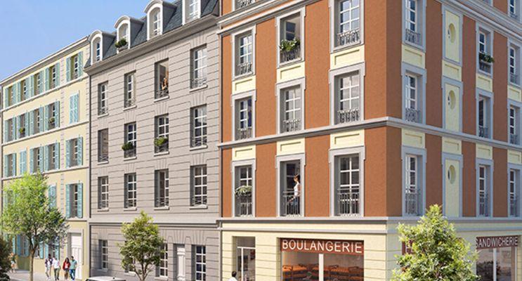 Pontoise : programme immobilier neuf « Campus Pissaro »