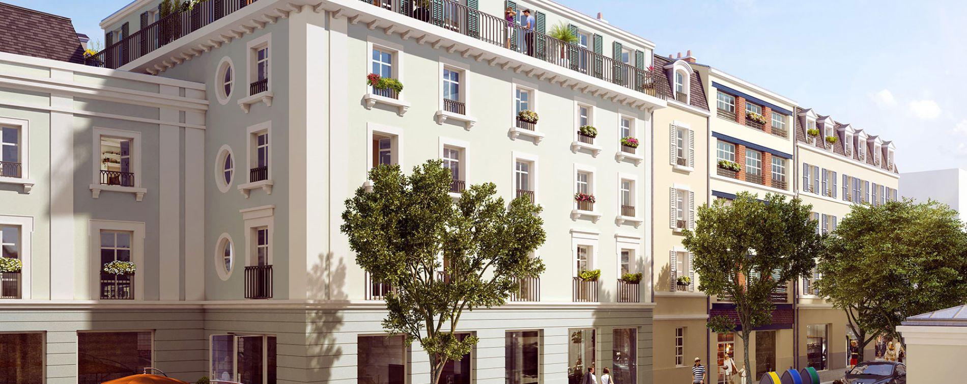 Pontoise : programme immobilier neuve « Les Nymphéas » en Loi Pinel
