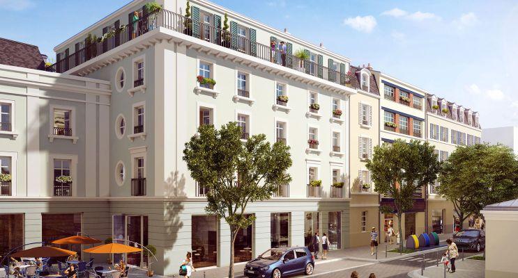 Pontoise : programme immobilier neuf « Les Nymphéas » en Loi Pinel
