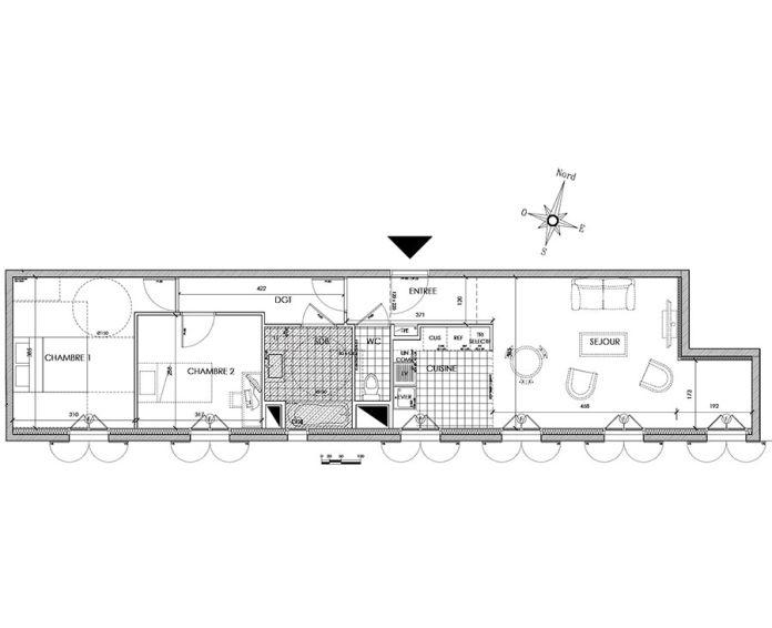 Plan T3 neuf à Pontoise de