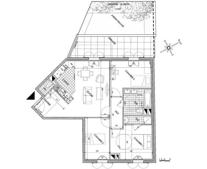 Plan T4 neuf à Pontoise de