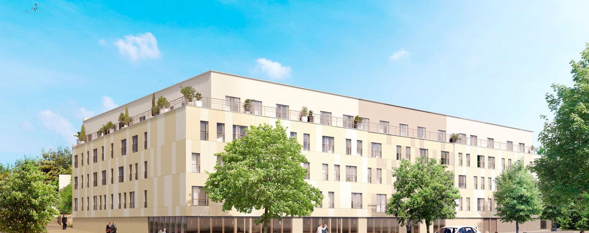Roissy-en-France : programme immobilier neuve « L'Envol »
