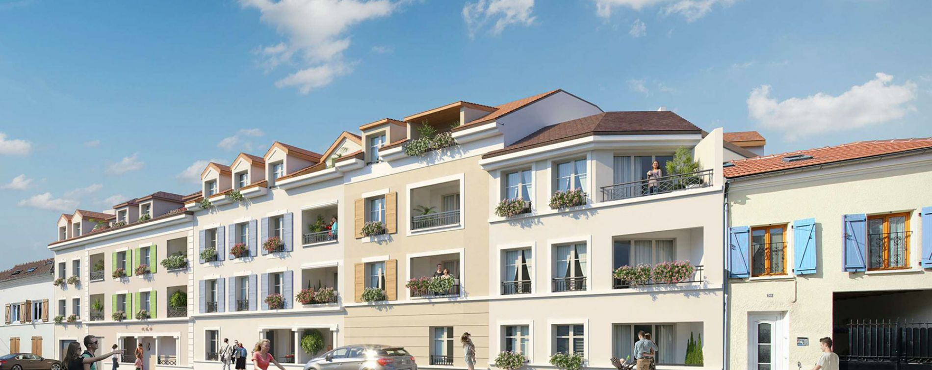 Saint-Leu-la-Forêt : programme immobilier neuve « Le 42 Paris »