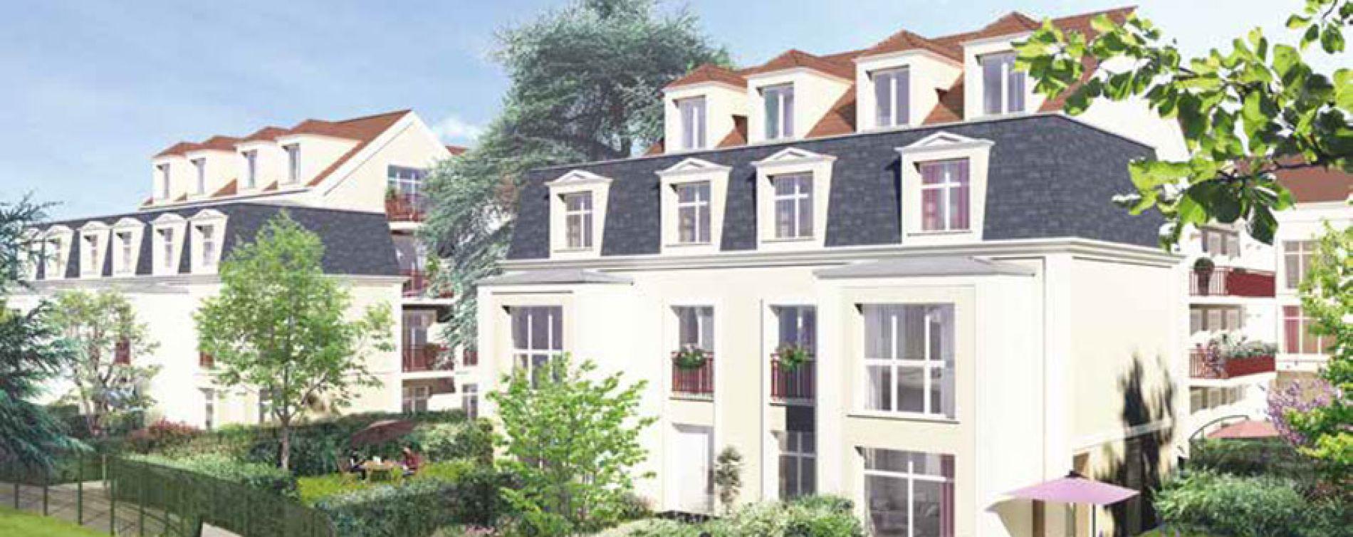 Saint-Leu-la-Forêt : programme immobilier neuve « Le Cèdre Bleu » en Loi Pinel