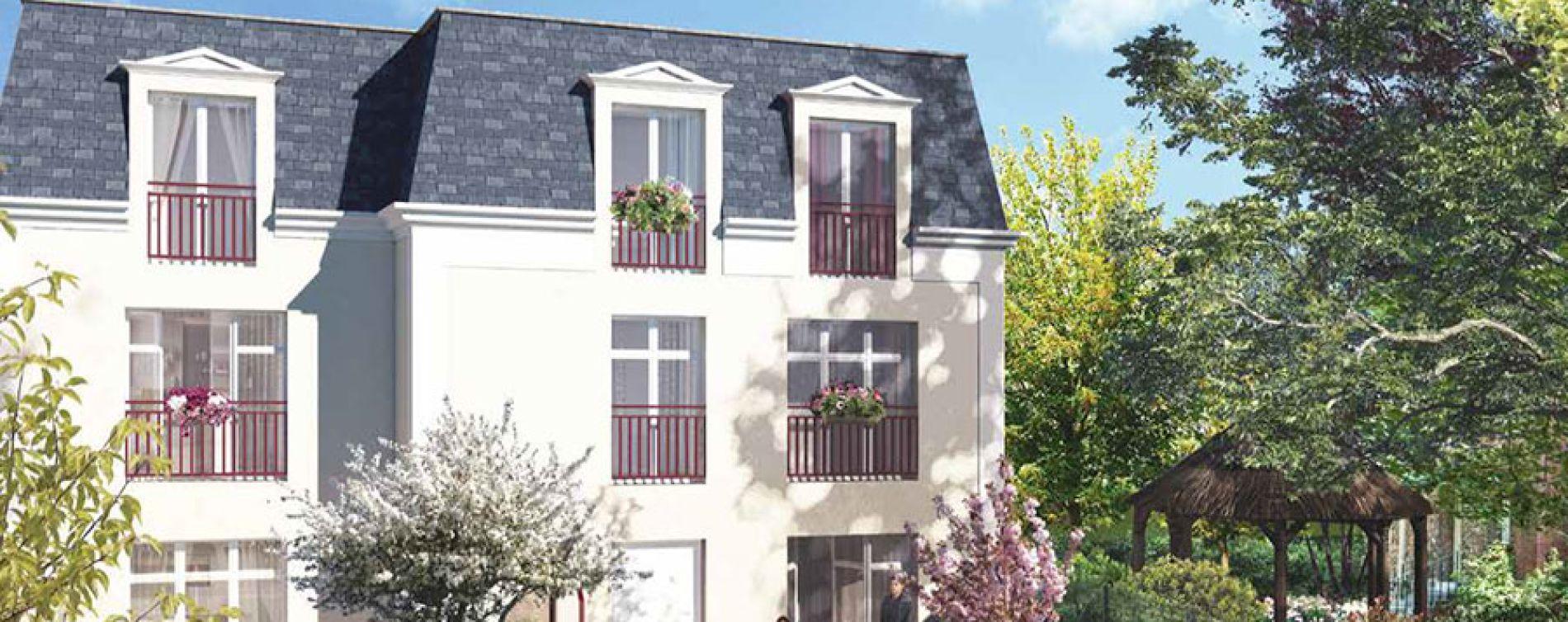 Saint-Leu-la-Forêt : programme immobilier neuve « Le Cèdre Bleu » en Loi Pinel (2)
