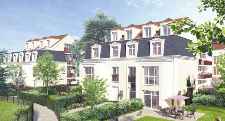 Saint-Leu-la-Forêt programme immobilier neuf « Le Cèdre Bleu » en Loi Pinel