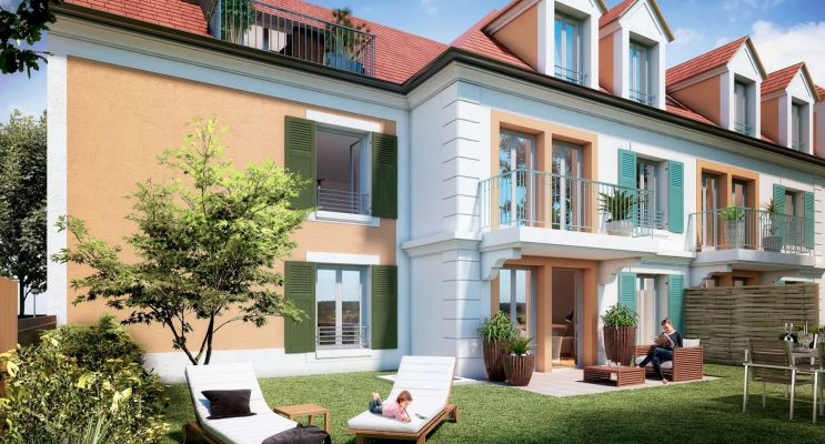 Photo n°1 du Résidence « Manon Roland » programme immobilier neuf en Loi Pinel à Saint-Prix