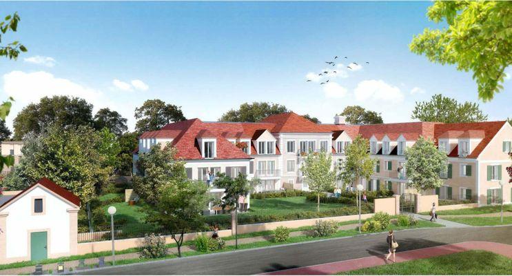 Photo n°2 du Résidence « Manon Roland » programme immobilier neuf en Loi Pinel à Saint-Prix