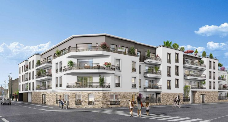 Sannois programme immobilier neuf « Graphite » en Loi Pinel