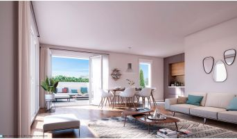 Sannois programme immobilier neuve « La Promenade de Louise »  (4)