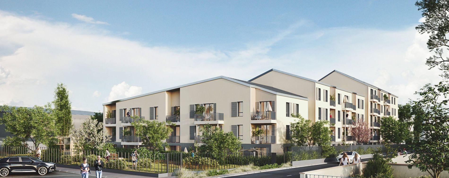 Taverny : programme immobilier neuve « MELIA » en Loi Pinel (3)