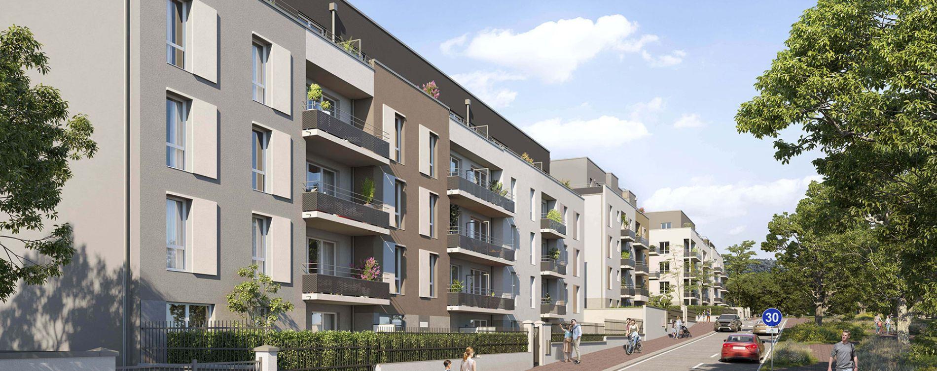 Villiers-le-Bel : programme immobilier neuve « Programme immobilier n°218917 » en Loi Pinel
