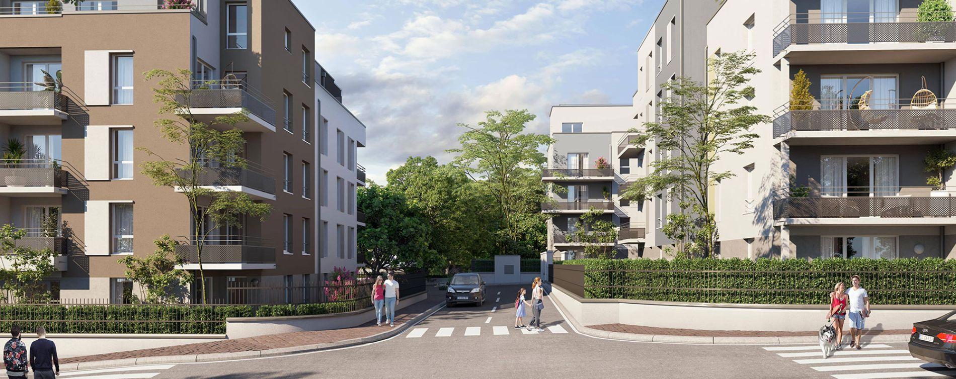 Villiers-le-Bel : programme immobilier neuve « Programme immobilier n°218917 » en Loi Pinel (2)