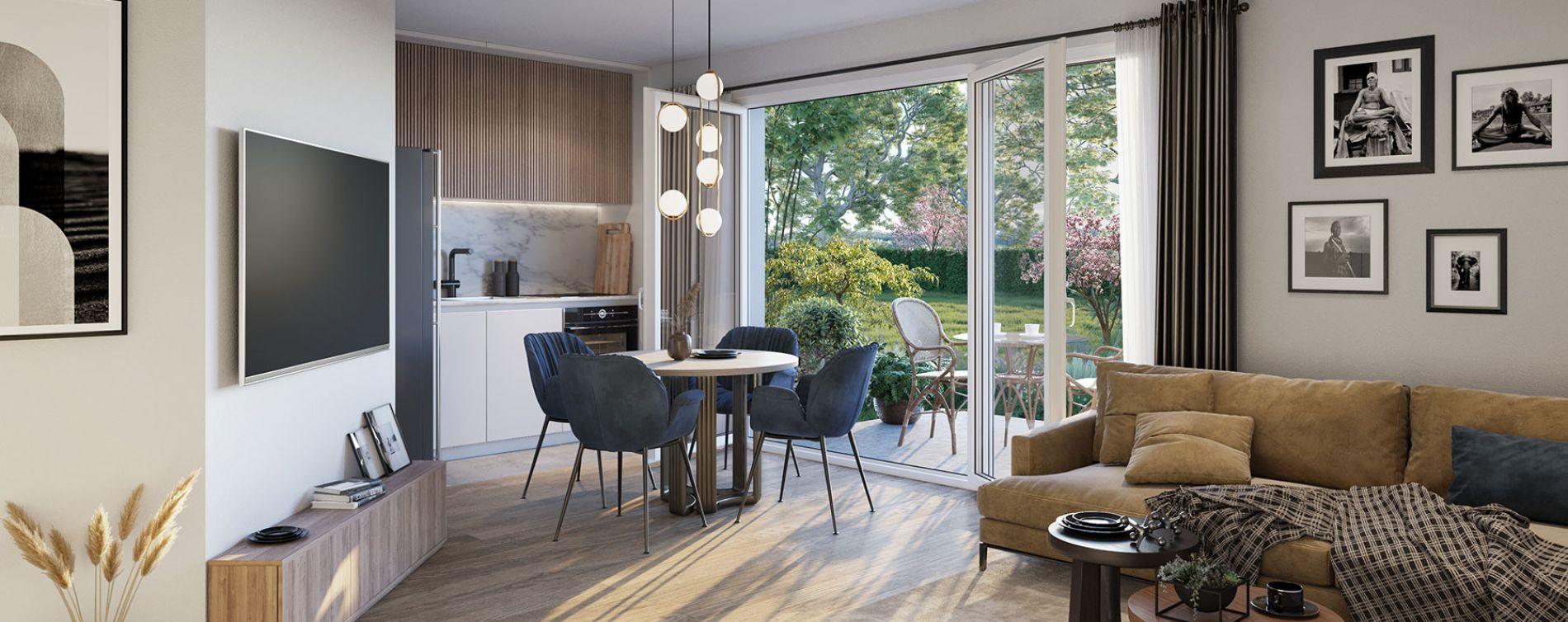 Villiers-le-Bel : programme immobilier neuve « Programme immobilier n°218917 » en Loi Pinel (4)
