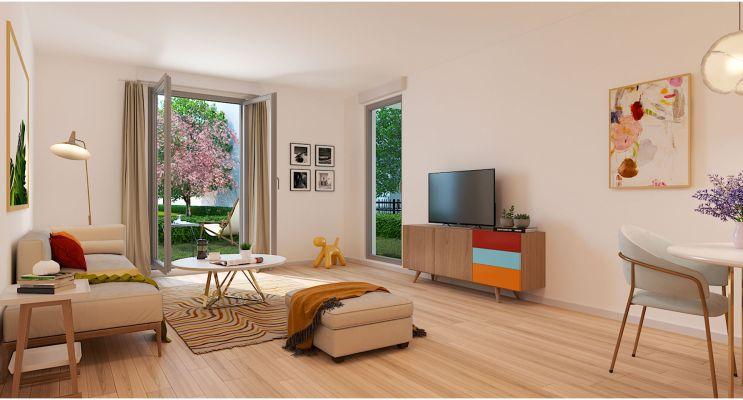 Résidence « O'Centre » programme immobilier neuf en Loi Pinel à Villiers-le-Bel n°1
