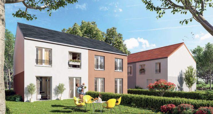 Résidence « O'Centre » programme immobilier neuf en Loi Pinel à Villiers-le-Bel n°3