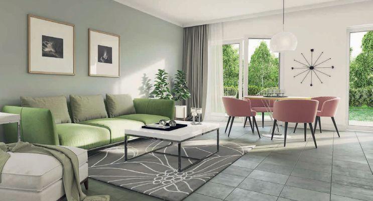 Résidence « O'Centre » programme immobilier neuf en Loi Pinel à Villiers-le-Bel n°4