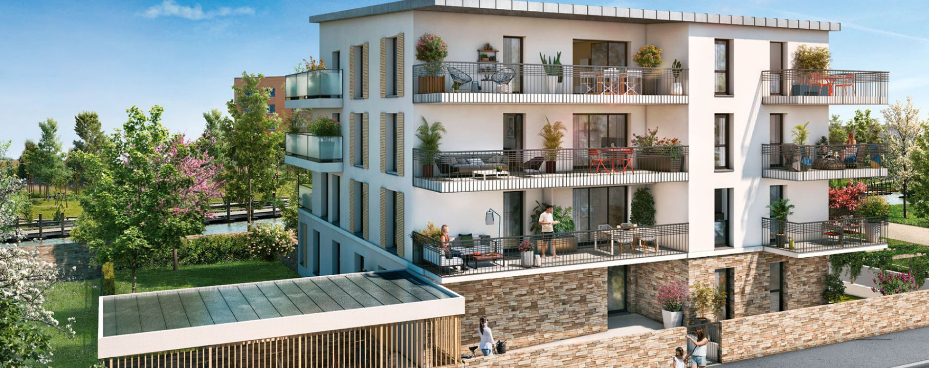 Bois-d'Arcy : programme immobilier neuve « La Châtaigneraie - Appartements »