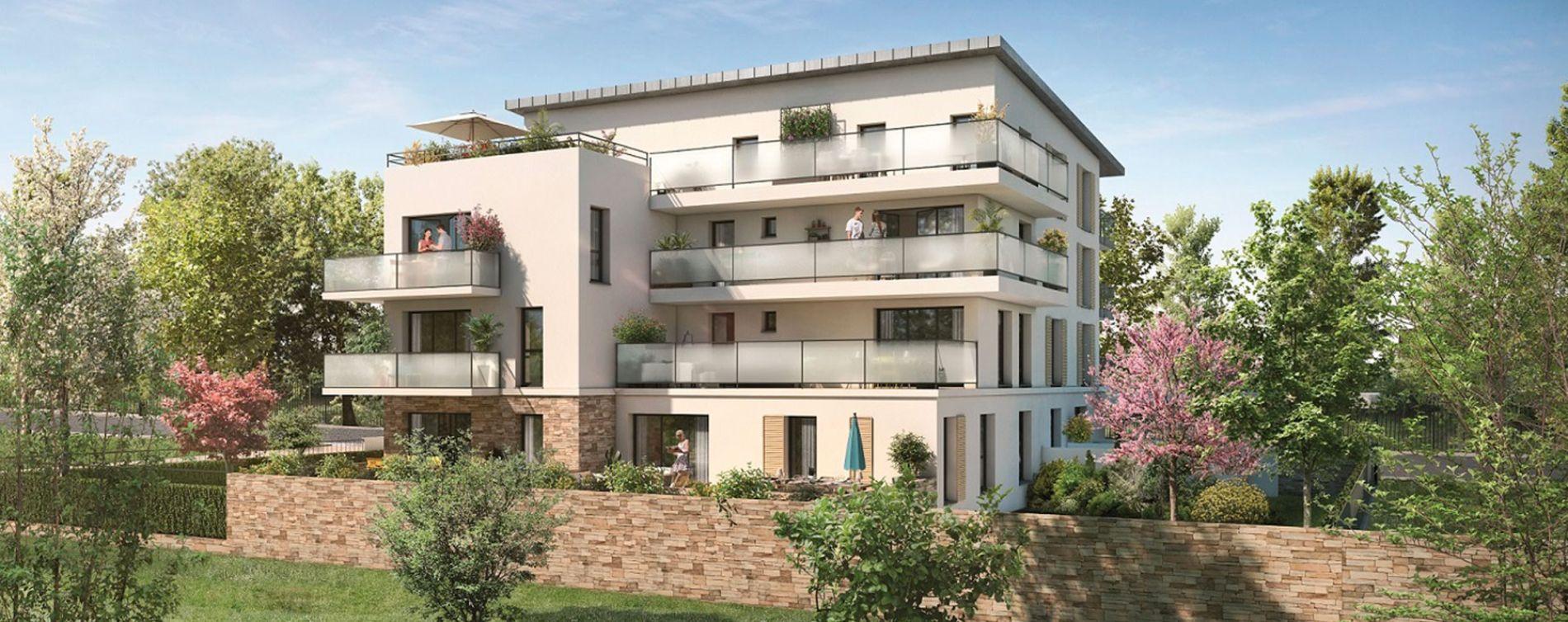 Bois-d'Arcy : programme immobilier neuve « La Châtaigneraie - Appartements » (2)