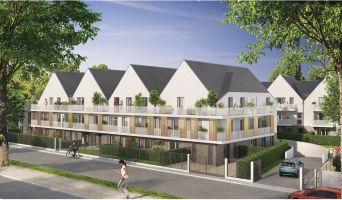 Bonnières-sur-Seine : programme immobilier neuf « Résidence du Val » en Loi Pinel