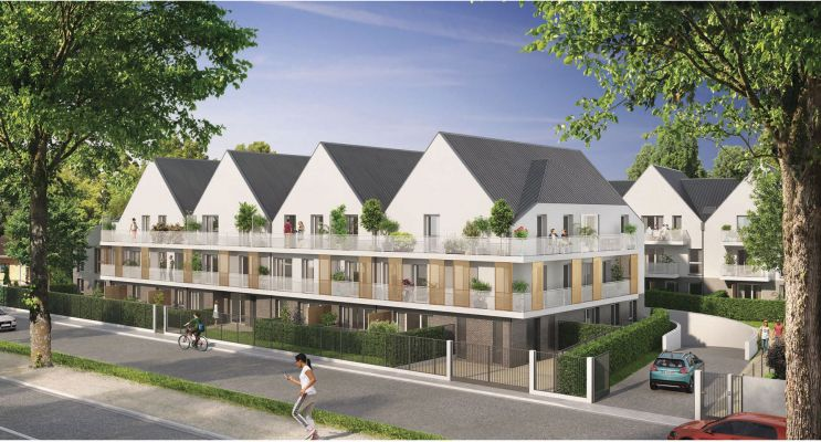 Photo du Résidence « Résidence du Val » programme immobilier neuf en Loi Pinel à Bonnières-sur-Seine