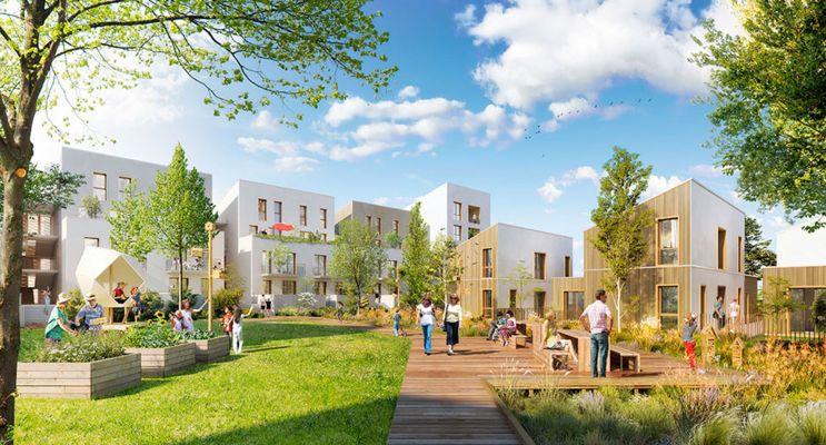 Résidence « Ekko » programme immobilier neuf en Loi Pinel à Carrières-sous-Poissy n°1